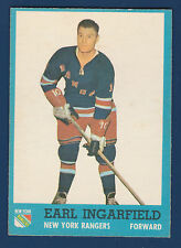 EARL INGARFIELD  62-63 TOPPS 1962-63 NO 51 EXMINT+  5141