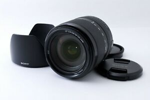 Sony SAL 18-135mm f/3.5-5.6 DT SAM Black [Near Mint] w/Hood From Japan [6421]