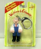 Wallace & Gromit Vintage 1989 Collectibe Keychain Key Ring Original Package