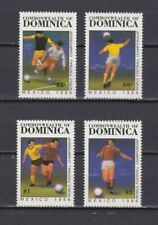 S5998) Dominica 1986 MNH World Cup Football '86 - 4v