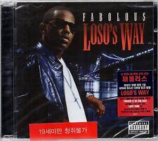Fabolous - Loso`s Way  UNIVERSAL 2009 Audio CD Sealed $2.99 Ship
