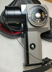 Asahi Pentax Spotmeter V Light Exposure Meter Excellent Condition