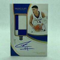 2019 Immaculate Tyler Herro RPA /25 RC Auto JERSEY NUMBER #14 /25 SP Rookie Card