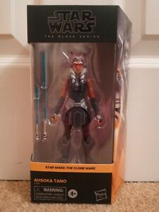 Star Wars Black Series Ahsoka Tano Clone Wars 6 inch Action Figure