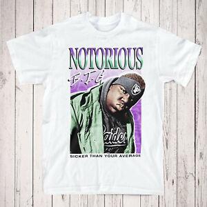 Biggie Smalls Tribute Tee - Notorious BIG T-Shirt