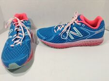 NEW BALANCE Women W980BO Blue Pink Running Walk Athletic Shoes Size 11 TJ-1017