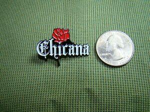 Chicana hat pin lowrider pin Latina pin jacket pin lapel pin chola pin homegirl