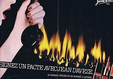 Publicité Advertising 016 1980 Jean d'Avèze vernis à ongnles (2 pages)