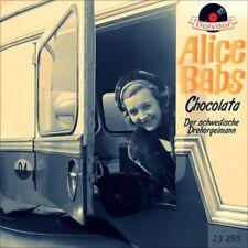 """7"""" ALICE BABS Chocolata WERNER MÜLLER Der schwedische Drehorgelmann POLYDOR 1956"""