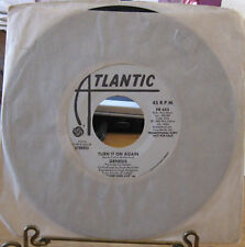 GENESIS 1982 WHTE LBL PROMO turn it paperlate 45RPM NEW