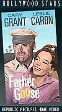 Father Goose (VHS) Hollywood Stars CARY GRANT Movie 1987 New Free Ship SEALED