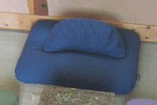 Crescent Zafu and Zabuton Meditation Cushion Set (6 Color Choices) - Large Size