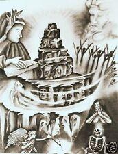 Dante -Divine Comedy -Authentic Lithos - Donnangelo P/P