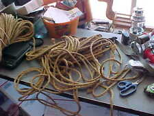 10 MILITARY TENT ROPES 10 FOOT LONG  TENT TARP TRUCK TRAILER US ARMY GP TENT