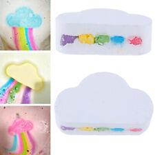Rainbow Cloud Bath Bomb Salt Exfoliating Moisturizing Bubble Bath Bomb N DH