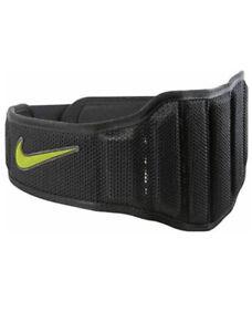 Nike Structured Lifting Training Gym Belt 2.0 Black Size X-Large