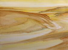"James Conaway ""Sonora Strata"" Signed Original Mixed Media Art Paper Make Offer"