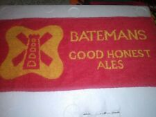 Vintage Batemans Good Honest Ales Bar Towel