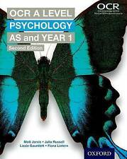 OCR A Level Psychology: AS and Year 1 Second Edition (Paperback)  Jarvis     NEW