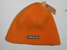 Men Women Orange Winter Bula Skull Beanie Winter Cap Ski Hat Sz OS