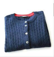 New Women's Twist knit Jacket Short Cashmere Sweater Cardigan Cashmere Coat