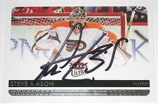 STEVE MASON SIGNED 14-15 FLEER ULTRA PHILADELPHIA FLYERS CARD AUTOGRAPH AUTO!
