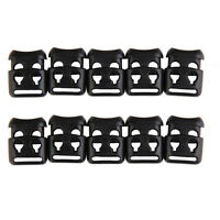 10 pcs Shoe Lace Shoelace Buckle Rope Clamp Cord Lock Stopper Run Sports SPNA