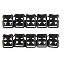 10 PCS Shoelace Buckle Non-slip Survival Stopper Rope Clip Clamp Cord Lock LY,*