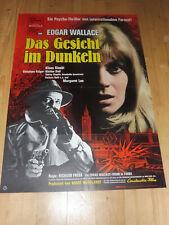 DAS GESICHT IM DUNKELN - Kinoplakat A1 ´69 - EDGAR WALLACE Klaus Kinski