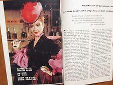 1960 TV Guide(AMANDA  BLAKE/DIANE  McBAIN/CLIFF NORTON/JAMES WHITMORE/ERNIE FORD