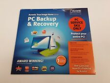 Acronis True Image Home 2011 PC BACKUP & RECOVERY