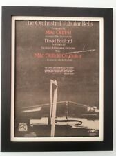 MIKE OLDFIELD*Orchestral Tubular Bells*ORIGINAL*POSTER*AD*FRAMED*FAST WORLD SHIP