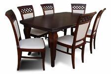 Klassische Tisch- & Stuhl-Sets aus Holz fürs Wohnzimmer