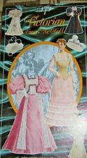 Vintage Victorian Dress Me Paper Doll Series 1 Made England 1990 Mamelok Press
