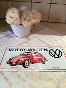 Volkswagen Car Collectible Metal Number Plate BRAND NEW SEALED