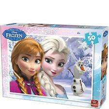 50 Piece Disney Jigsaw Puzzle Frozen 2 Elsa Anna - Waving Olaf Kids Small 05315B