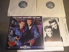 """Time Life The Rock """"N"""" Roll Era 1957-1962 by The Everly Brothers 2x LP BOX bookl"""