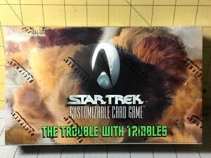 Decipher Star Trek CCG The Trouble With Tribbles Booster Box Sealed