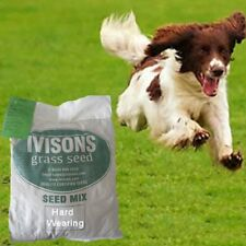 1.5kg PREMIUM LAWN SEED WITH RYE GRASS HARD WEARING - IVISONS SEEDS NEW