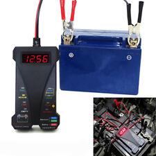 12V Digital ATV Motorcycle Battery Tester Charging Circuit Analyzer Tool Superb