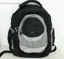 Samsonite Laptop Backpack Black Carry On Luggage Bag Travel School Work blk/gray