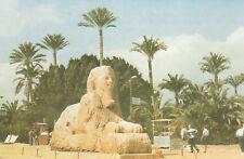 ÄGYPTEN - SPHINX STATUE IN MEMPHES - Postkarte - 10 x 14,5 cm