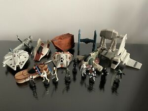 Star Wars Micro Machines 2005 Revenge Of The Sith. Ships & Figures bulk lot