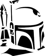 Star Wars trooper stickers decal vinyl window car laptop, bikes scooter VI