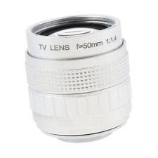 Fernsehen CCTV 50mm F1.4 Objektiv C Halterung für Olympus E P3 / E PL3 / E