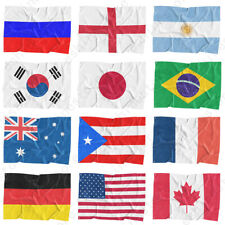 3'x5' Ft National Flag World Country Flags Polyester America Flags World Cup New