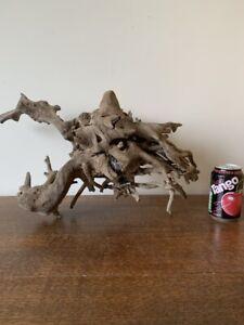Driftwood Piece natural  sculpture. tangled rootstump for viv,/ Display bogwood