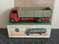 VINTAGE DINKY SUPER TOYS No.511 GUY 4 TON LORRY RED/FAWN IN ORIGINAL BOX