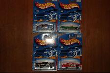 Hot Wheels Monster Car Series Complete Set Of 4