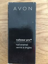 Avon Nailwear Pro+ Plus Nail Enamel Varnish Shade ' NAKED TRUTH ' 10ml Free Post